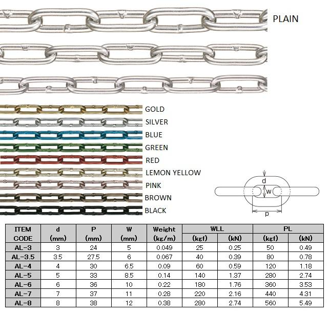 Aluminum Link Chain