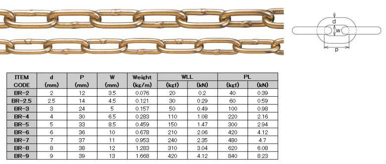 Brass Link Chain