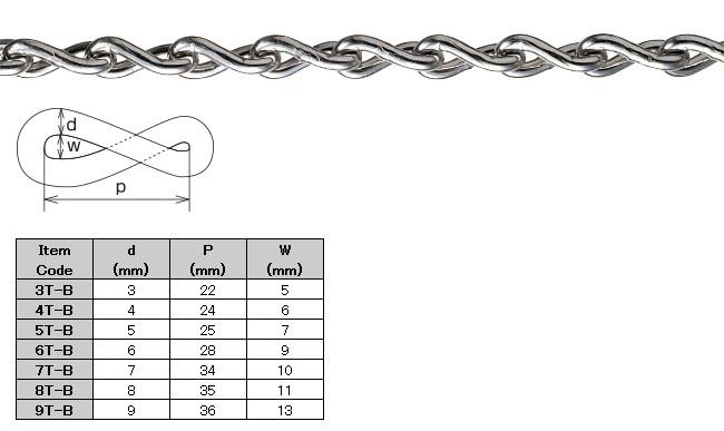 Brass Twist Chain