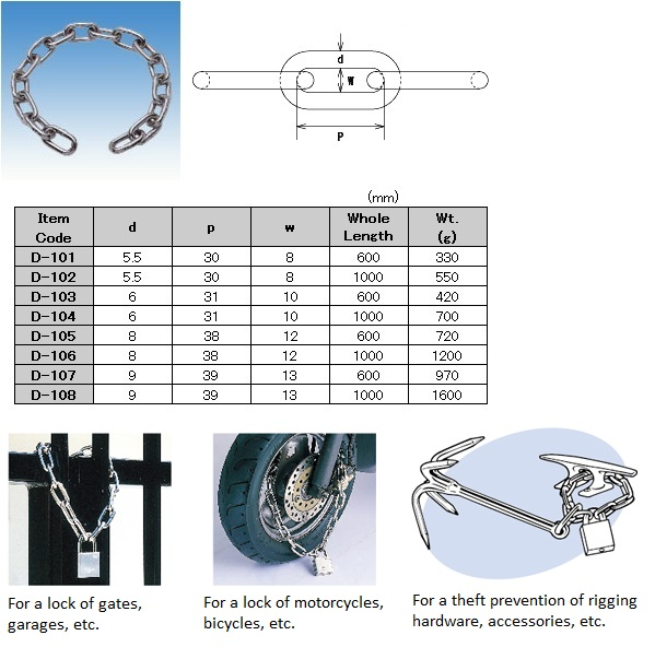 stainless special steel chain