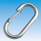 Oval Snap Spring Hook for Rope