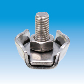 Stamped Single Wire Rope Clamp