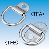 Folding Pad Eye w/D-Ring